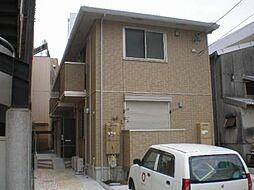 愛知県名古屋市中川区荒子2丁目の賃貸アパートの外観