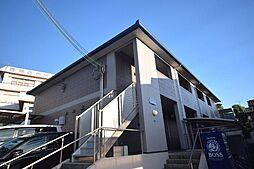 大阪府柏原市片山町の賃貸アパートの外観
