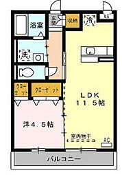 プレミールM[1階]の外観