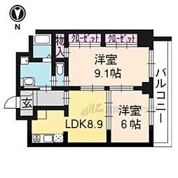 京都地下鉄東西線 二条城前駅 徒歩6分