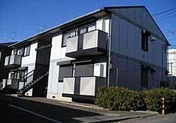 東京都国分寺市北町5丁目の賃貸アパートの外観