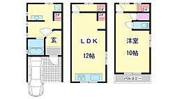 [一戸建] 兵庫県神戸市兵庫区上沢通5丁目 の賃貸【/】の間取り