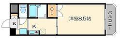 フローラルタワーI (アイ)[4階]の間取り