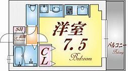 メゾン須磨2000[402号室]の間取り