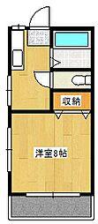 猿橋アパート[2階]の間取り