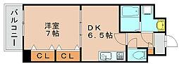 カーサコンプレッソ[3階]の間取り