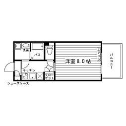 シュトラール千代田[7階]の間取り