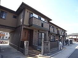 兵庫県三木市平田の賃貸アパートの外観