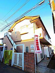 埼玉県所沢市花園4丁目の賃貸アパートの外観