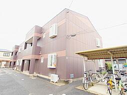 広島県広島市安佐南区東野2丁目の賃貸アパートの外観