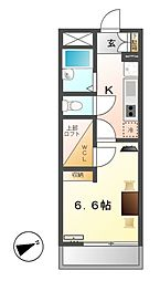 レオパレス小本本町[2階]の間取り