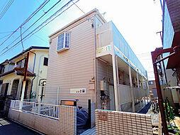 埼玉県入間市東藤沢5丁目の賃貸アパートの外観