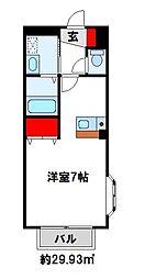 古川第2コーポ[2階]の間取り