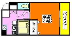 サンピリア・小阪 501号室[5階]の間取り