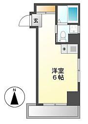 ドール丸の内[2階]の間取り