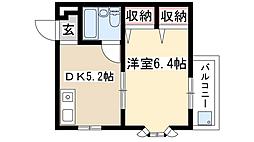 エスポアール御器所[1階]の間取り