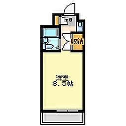 トレンディ立花[4階]の間取り