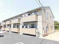 東京都昭島市大神町1丁目の賃貸アパートの外観