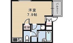 グレースヴィラ昭和町[102号室]の間取り