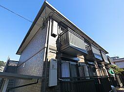 千葉県成田市幸町の賃貸アパートの外観