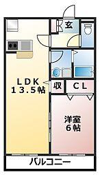 前原西2丁目計画[1階]の間取り