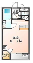 兵庫県赤穂市南野中の賃貸アパートの間取り
