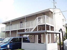 京都府京都市西京区松室田中町の賃貸アパートの外観