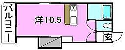 メゾンドNANKAI 2[302 号室号室]の間取り