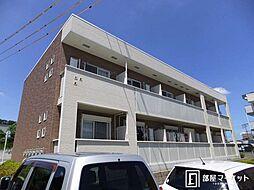 愛知県豊田市平芝町3丁目の賃貸アパートの外観