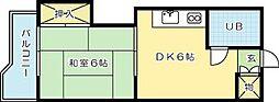 ルナプリンセス[305号室]の間取り