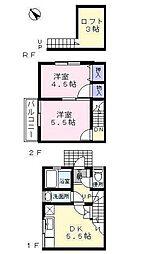 [テラスハウス] 東京都練馬区東大泉5丁目 の賃貸【/】の間取り