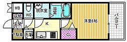 プレサンス野田阪神駅前ザプレミアム[14階]の間取り