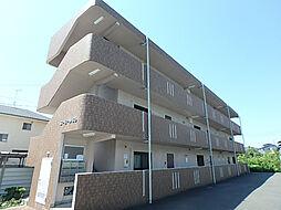 愛媛県東温市見奈良の賃貸マンションの外観