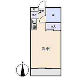 ファミールN[3階]の間取り