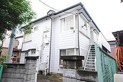 埼玉県越谷市蒲生1丁目の賃貸アパートの外観