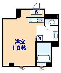 シンエイ第7船橋マンション[207号室]の間取り