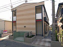 埼玉県さいたま市北区日進町1丁目の賃貸アパートの外観