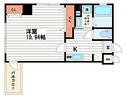 メゾン・デ・ノムラ南久宝寺[5階]の間取り