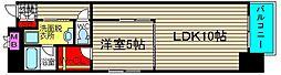 コンソラーレ桜川V[804号室]の間取り