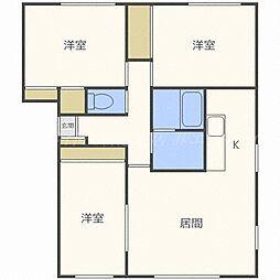 フルハウスN36[1階]の間取り