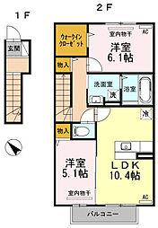 フェスト大塚[2階]の間取り