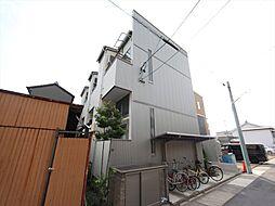 愛知県名古屋市中村区森田町3丁目の賃貸アパートの外観
