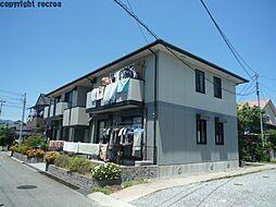 兵庫県伊丹市御願塚7丁目の賃貸アパートの外観