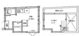 東京都新宿区北新宿3の賃貸アパートの間取り