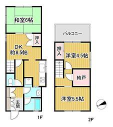 阪急宝塚本線 川西能勢口駅 徒歩15分