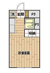 プランタン和泉[102号室]の間取り