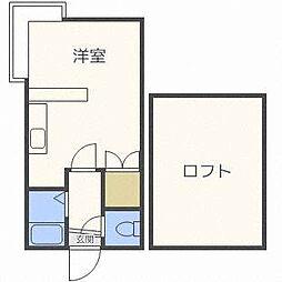 AMS澄川[2階]の間取り