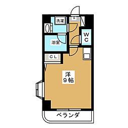 ラポール勾当台[9階]の間取り