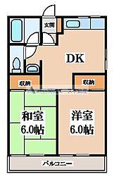 エトワールSEIWA[2階]の間取り
