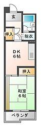 アーバニア大須[5階]の間取り